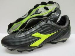 Diadora 118527 Soccer Football Lacrosse Shoes Cleats Black N
