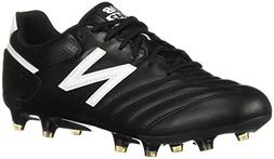 New Balance Men's 442 Team FG V1 Classic Soccer Shoe, Black/