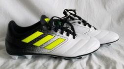 Adidas Ace 17.4 FG NEW Youth Boys BA8564 Black Yellow White
