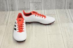 adidas Unisex ACE 18.4 FxG, White/core Black/Real Coral, 7 M