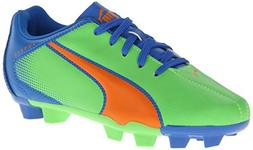 PUMA Adreno Firm Ground Junior Soccer Cleat  , Fluorescent G