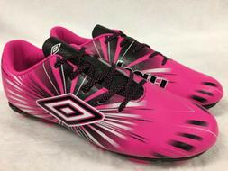 Umbro Arturo 3.0 FG Pink Kids Youth Girl Soccer Cleats Size