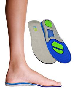 Children's Athletic Gel Insoles for Cushion and Comfort for