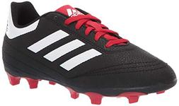 adidas Unisex Goletto VI Firm Ground, Black/White/Scarlet, 1