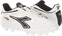 Diadora Men's Baggio 03 Otaly OG MD PU Soccer Cleats, White