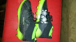 Aleader Black & green Soccer Cleats Size 6 Unisex