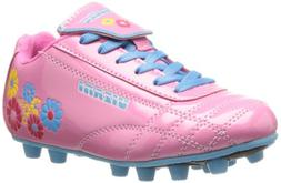Vizari Blossom Soccer Cleat - Pink/Blue, 11.5 M US Little Ki