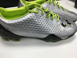 blur soccer cleats silver black size 9