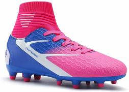DREAM PAIRS Boys Girls Soccer Football Cleats Shoes