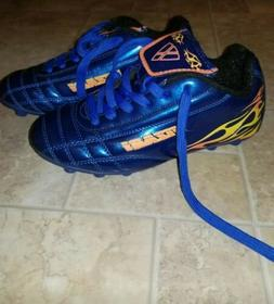 Boys Toddler Soccer Cleats Size 13.5 Blue NEW Vizari.  Boys