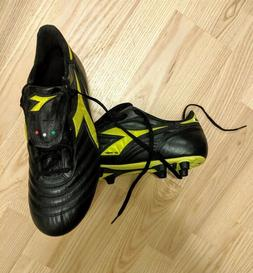Diadora Brasil classic leather soccer cleats - men's size 12