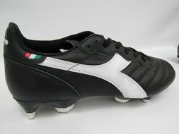 Diadora Brasil Italy LT MPH Mens Soccer Cleats Size 8.5 Blac