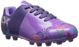 Vizari Butterflies FG Soccer Shoe ,Purple/Orange,1.5 M US Li