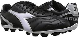 Diadora Man's Capitano MD Soccer Cleats, Black Polyurethane,