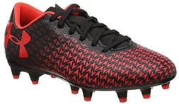 Under Armour Kids Unisex CF Force 3.0 FG Jr. Soccer  Black/W