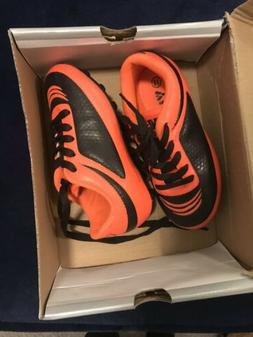 Child Soccer Cleats Shoes Orange Unisex 9.5 Toddler Vizari I