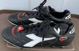 🔥Classic Diadora l VTG Baggio Leather Soccer Cleats Shoes