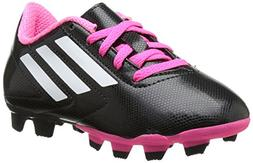 adidas Performance Conquisto Firm-Ground J Soccer Cleat ,Bla