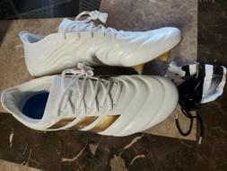 Adidas Copa 19.1 SG Soccer Cleats White gold Leather G26644
