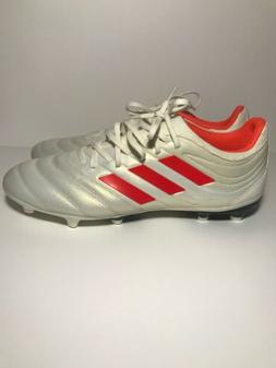 Adidas Copa 19.3 FG Soccer Cleats Men's Off-White Solar Red
