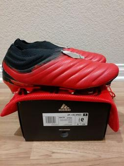 Adidas Copa 20+ FG firm ground soccer cleats, Red/white/Blac