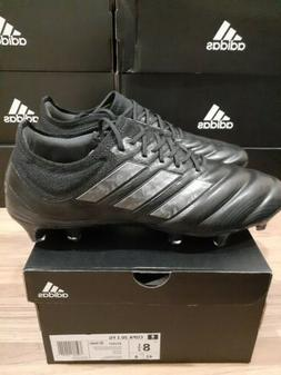 Adidas Copa20.1 FG firm ground soccer cleats, Black/Black/Ni