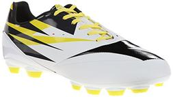 Diadora DD-NA 2 R LPU Soccer Cleat, White/Black/Fluorescent
