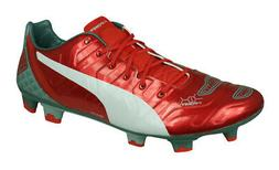 Puma evoPOWER 1.2 Graphic FG Mens Firm Ground Soccer Cleats