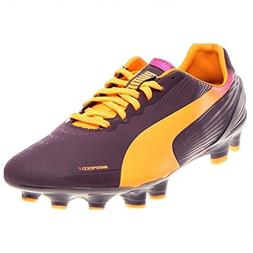 PUMA Men's evoSPEED 2.2 FG Soccer Shoe,Blackberry,9 D US
