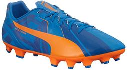PUMA Men's Evospeed 4 H2H FG Soccer Shoe, Orange Clown Fish,