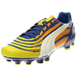 PUMA Men's Evospeed Graphic 3.2 Firm-M, Monaco Blue/Sulphur