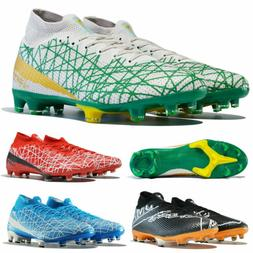FG Mens Soccer Shoes Cleats Outdoor Sports High Top Football