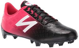 New Balance Men's Furon V4 Soccer Shoe, Bright Cherry/Black/