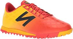 New Balance Men's Furon V4 Turf Soccer Shoe, Flame, 13 2E US