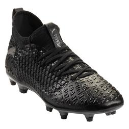 Puma Future 4.3 Netfit FG/ AG - Black/ Silver Cleat Soccer S