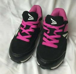 Easton Girls Youth Soccer Shoes Cleats Pink/Black in Missy S