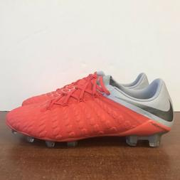 Nike Hypervenom 3 Elite FG Soccer Cleats Crimson Gray AJ3805
