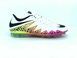 NIKE HYPERVENOM PHINISH AG-R SOCCER CLEATS SIZE 10 WHITE PIN