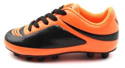 Vizari Infinity FG Orange and Black Soccer Cleats- Size 11C