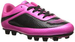 Vizari Infinity FG Soccer Cleat , Pink/Black, 11 M US Little