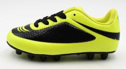 Vizari Infinity FG Yellow and Black Soccer Cleats- Size 8C