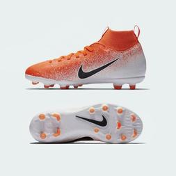 Nike Jr. Mercurial Superfly 6 Club FG Soccer Cleats Orange A
