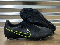 Nike JR Phantom Venom Elite FG Soccer Cleats Black Volt SZ