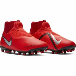 Nike Jr Phantom Vision Academy AG Soccer Cleats - Red/Black