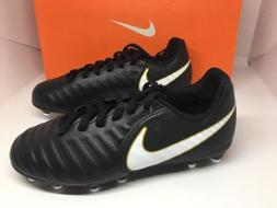 NIKE JR TIEMPO RIO IV FG Size 2 Youth Soccer Cleats  - BRAND