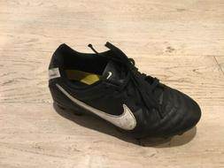 Nike Jr Tiempo Rio IV Firm-Ground Kids Soccer Cleats Size 1