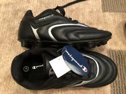 Champion Kids Black Soccer Cleats Shoes Size 4.5 Youth Girls