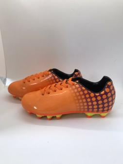 Kids Soccer Cleats Size 13 New Orange And Purple Shoes Vizar