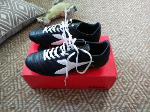 baggio soccer shoes cleats size 10 blk