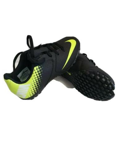 Brand soccer cleats boys size / green